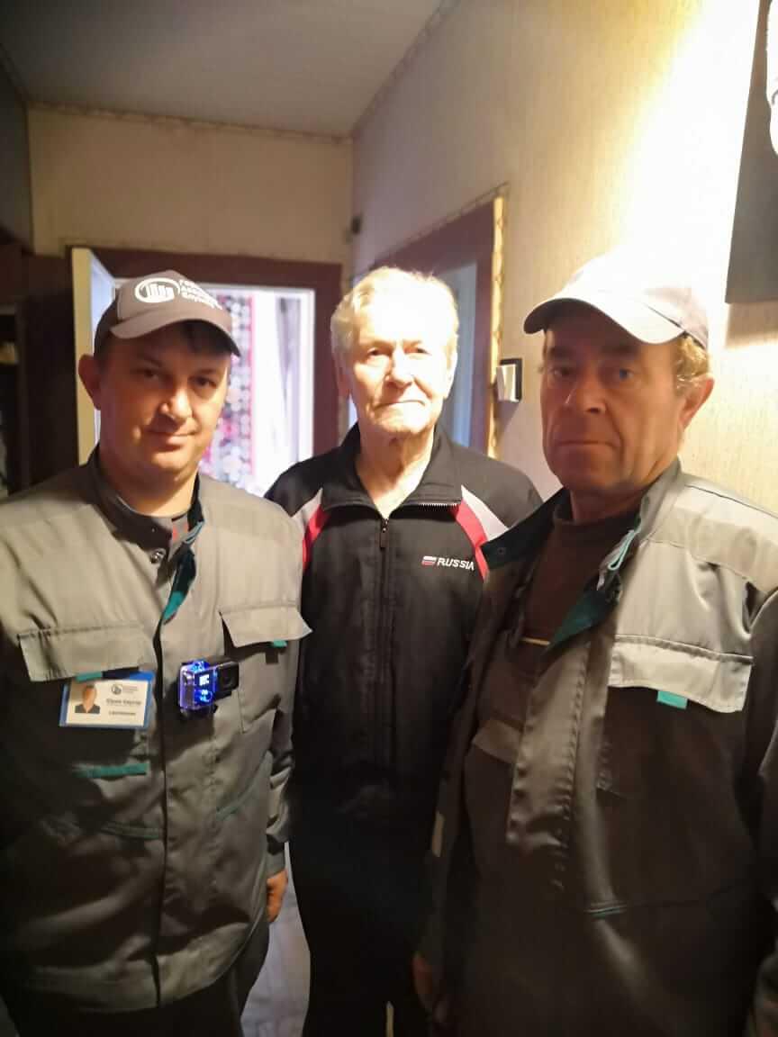 Помощь ветеранам в проведении электромонтажных и сантехнических работ